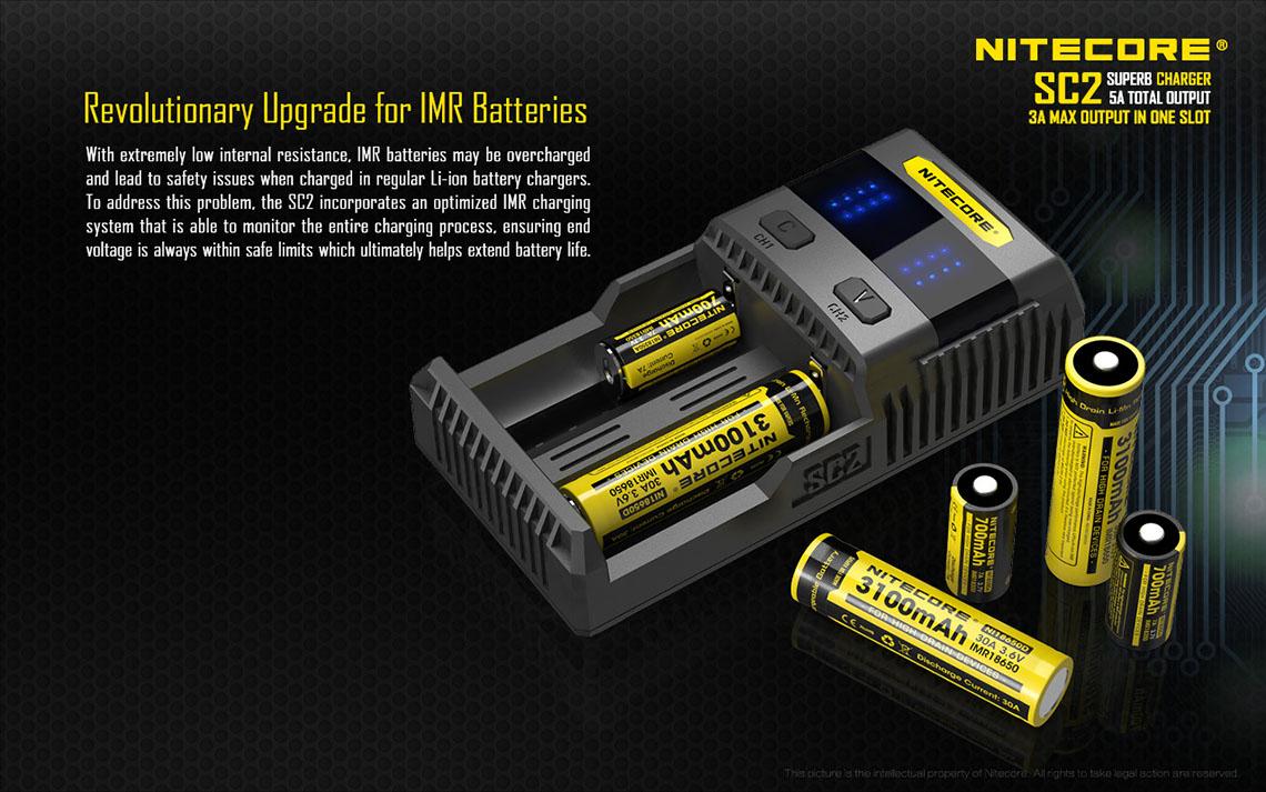 Sc2 Charger 1 Slot Baterai Vape Image Video Review